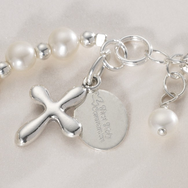 Any Name Personalised First Holy Communion Bracelet