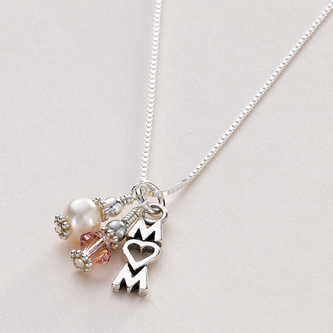 Birthstone Necklace For Mum Jewels 4 Girls