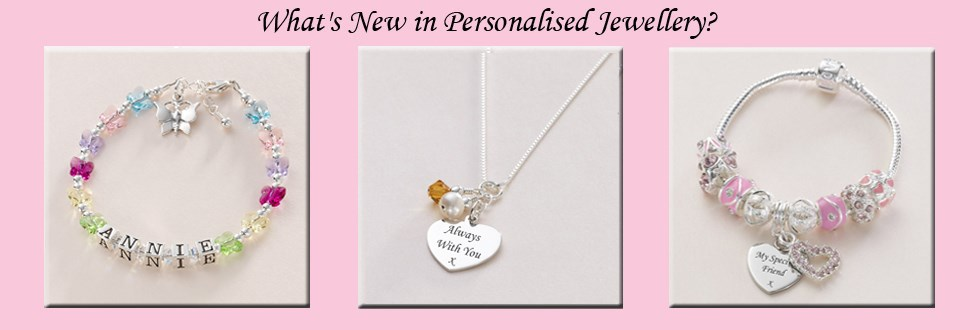 Whats New in Personalised Jewellery