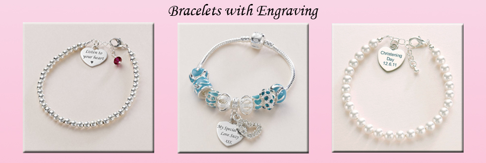 Bracelets with Engraving