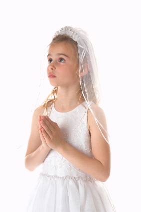 First Holy Communion Girl