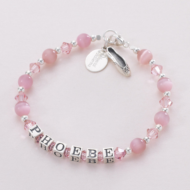 Ballerina Bracelet. Many Colours Available | Jewels 4 Girls