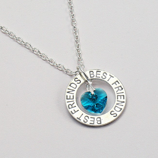 Birthstone Necklace For Best Friends Jewels 4 Girls