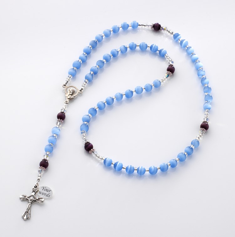 Personalised Child S Rosary Beads Jewels 4 Girls