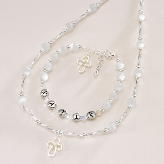 sc 1 st  Jewels 4 Girls & Christening Day Personalised Jewellery Set for Girls   Jewels 4 Girl