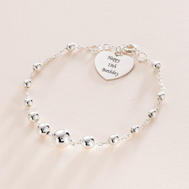 complementary crystal birthday with card bracelet for presentation other charm gift box jewellery silver sizes teens ages product girls available women colours