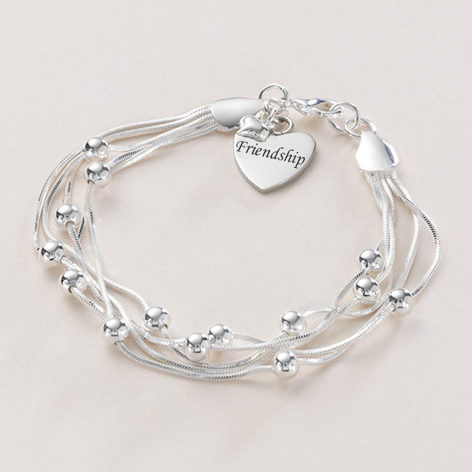 pin bracelet klutz love i friendship cobweb bands