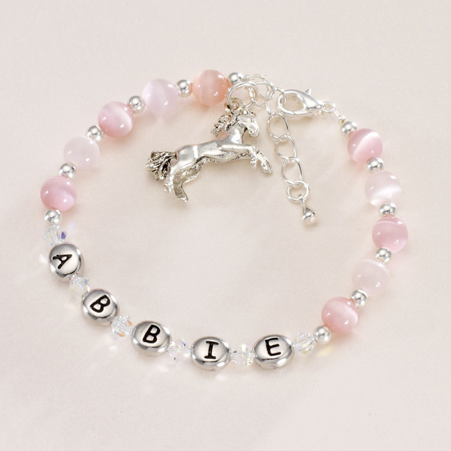Personalised Jewellery for Children! Girls Name Bracelets