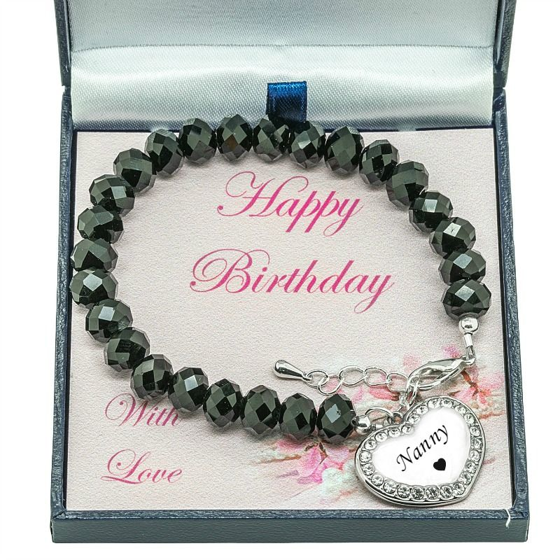 bracelet birthday tourmaline bangle personaised personalised milestone silver shop birthstone