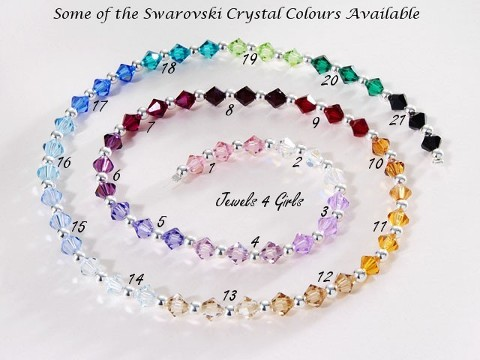 Crystal Colours for Jewellery