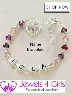 Name Bracelets for Girls