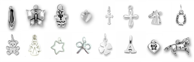 Children's Silver Charms